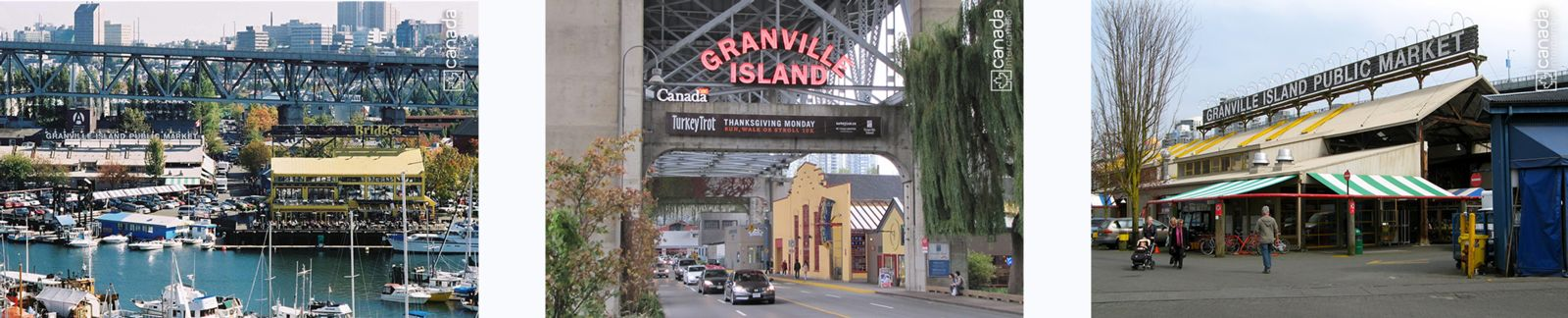 Ponto turistico em Vancouver, Granville Island