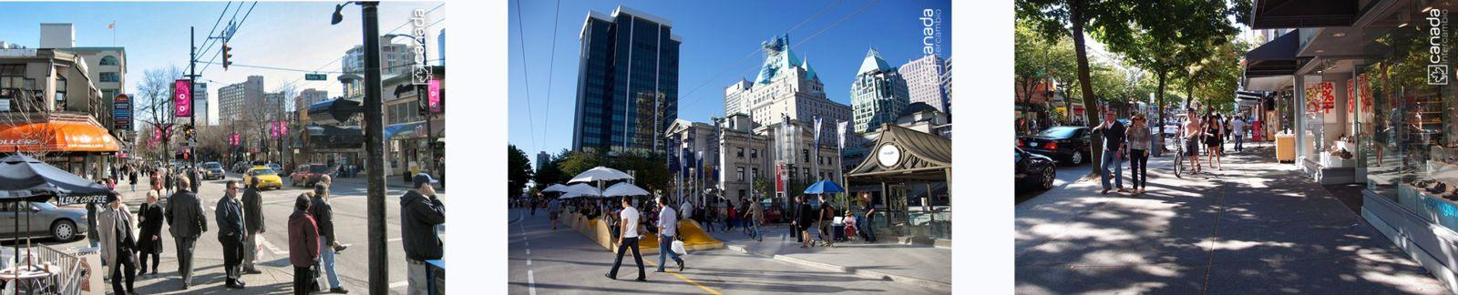 Ponto turistico em Vancouver, Robson Street