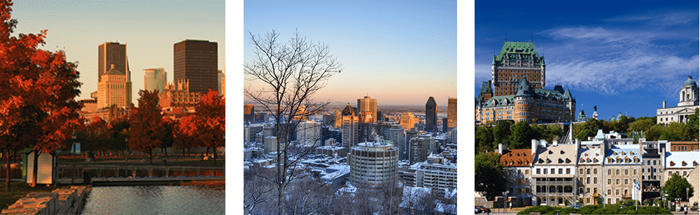 Estude frances; Quebec; Montreal