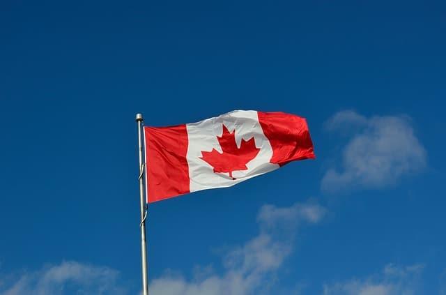Bandeira Canada; Bandeira canadense; Canada intercambio; Intercambio no exterior; Estude no Canada