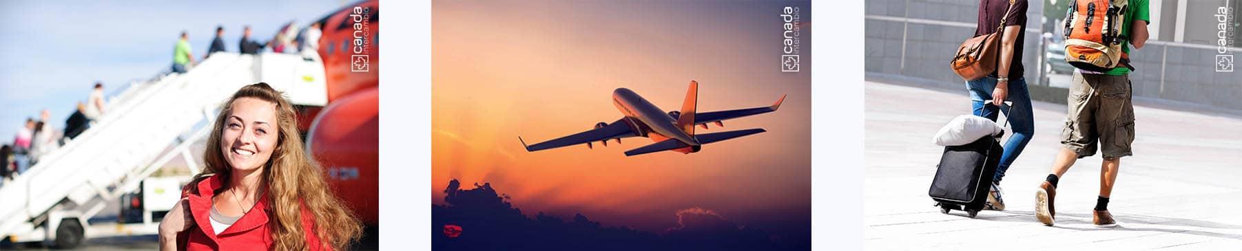Passagem aérea para o Canada; intercambio para o Canada