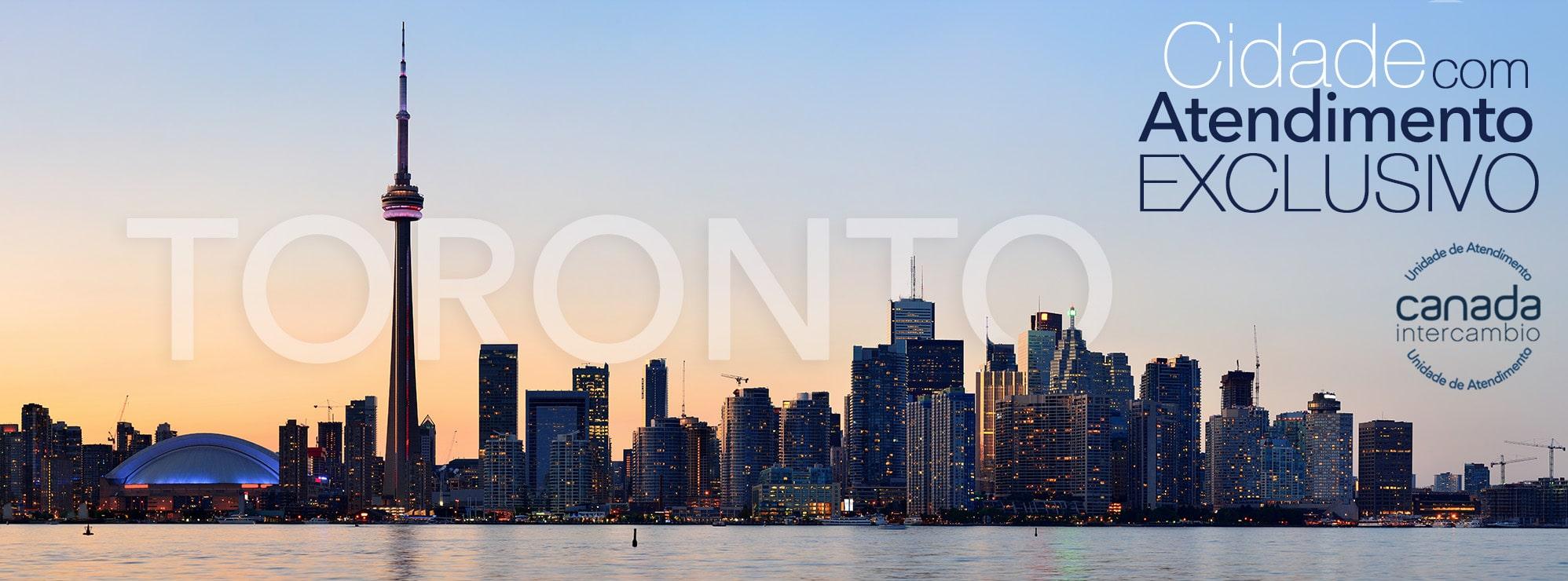 Cidade em atendimento exclusivo aos alunos Canada Intercambio