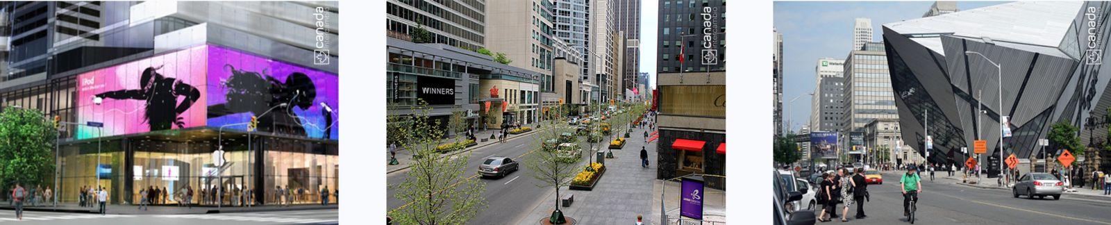 Bloor, rua famosa de Toronto